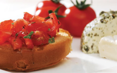 Continental Rusk Greek Style Bruschetta