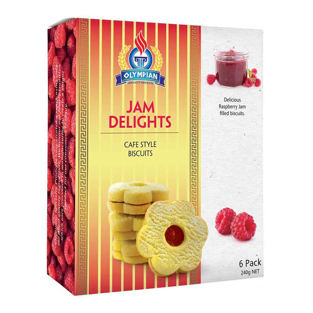 Greek Jam Delight Biscuits