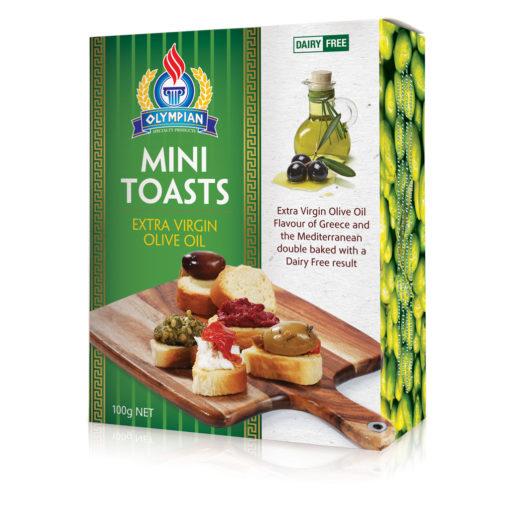 Olive Oil Mini Rusks