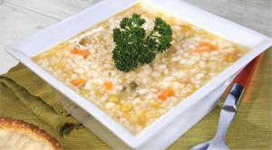 trahana vegetable soup