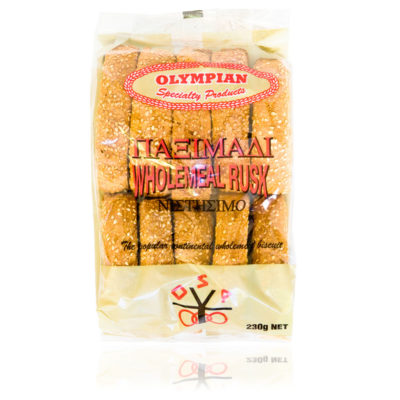 wholemeal rusk