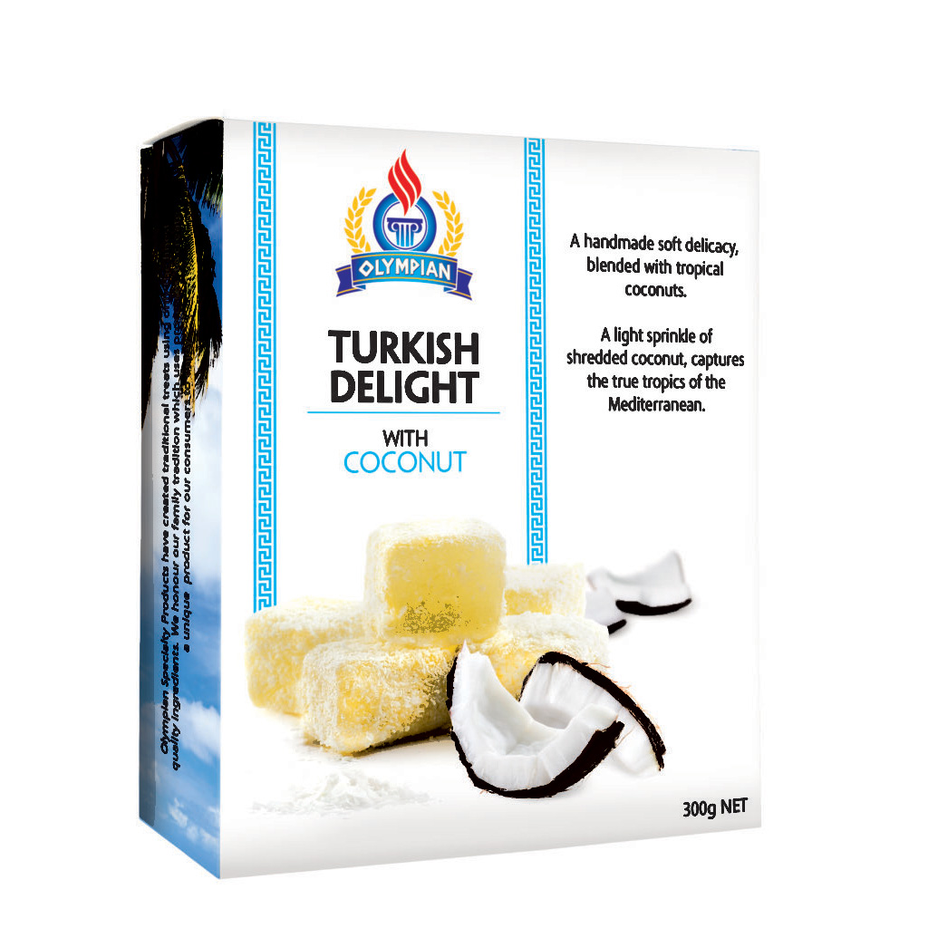 Turkish Delight - Coconut