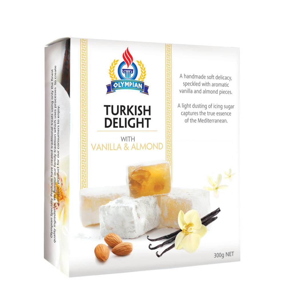 Turkish Delight - Vanilla Almond