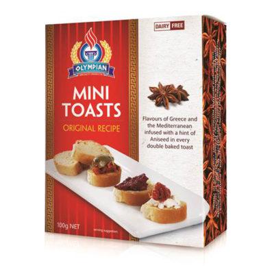 Greek mini toast original