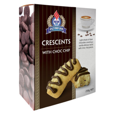 Crescents with choc chip