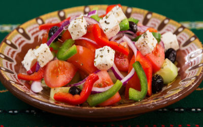 Delicious Greek Summer Salads