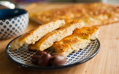 """Traditional Lagana – """"Clean Monday"""" Treat Before Greek Lent"""