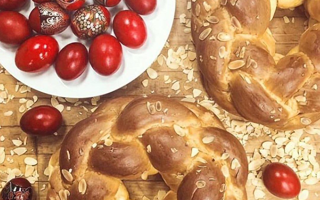Greek Easter Tsoureki Sweet Bread