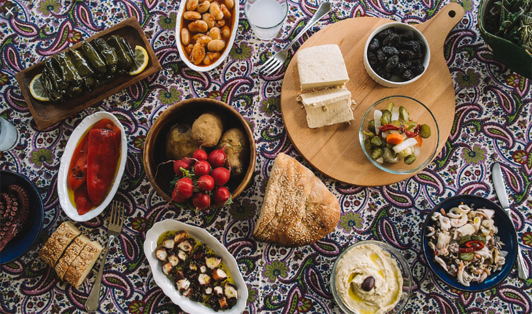 Greek fasting foods for lent