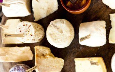 Greek Cheese. Best cheese for Saganaki