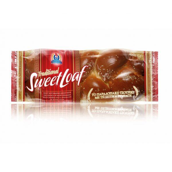 Traditional Greek Sweet Loaf