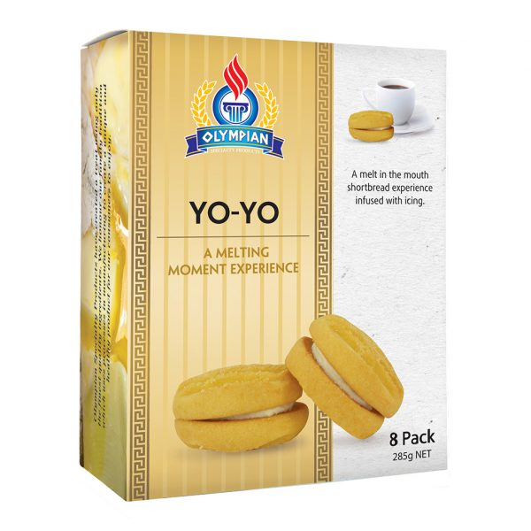 Greek biscuits - Yo-Yo biscuits - Melting Moments
