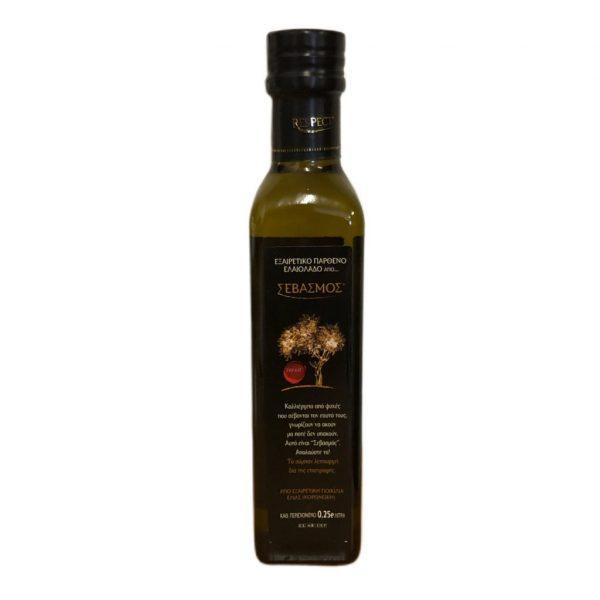 RESPECT EXTRA VIRGIN OLIVE OIL 0.25L (KALAMATA, GREECE)