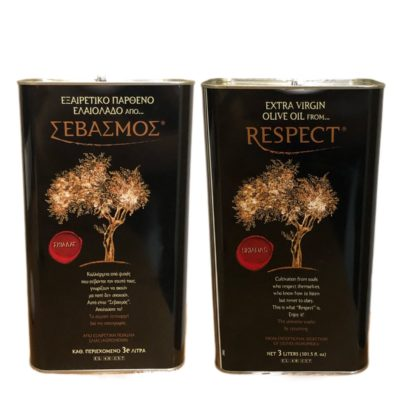 RESPECT EXTRA VIRGIN OLIVE OIL 3Litre (Kalamata, GREECE)