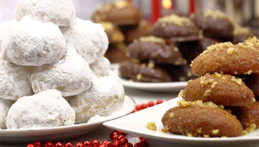 Greek Baked Christmas Nativity treats