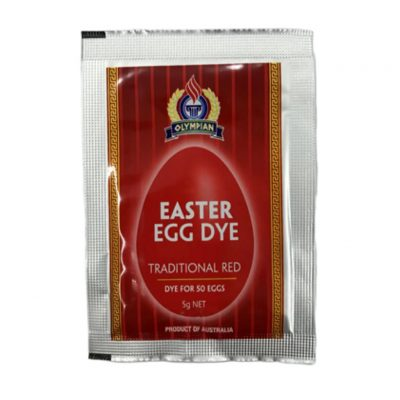 Greek Red Easter Egg Dye