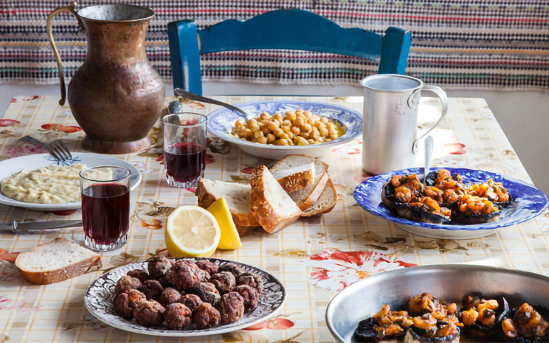 Traditional Greek Fasting Foods For Lent