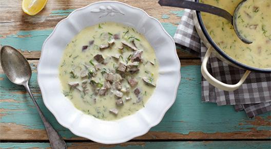 Mayiritsa Greek Easter soup