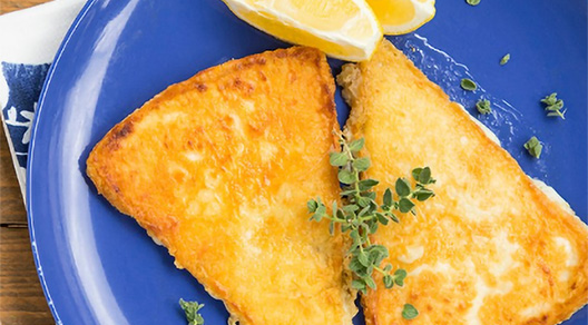 Saganaki Recipe - Greek cheese