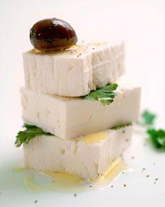 Greek feta chees
