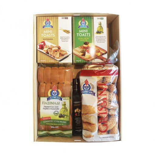 Greek savoury grazing gift box