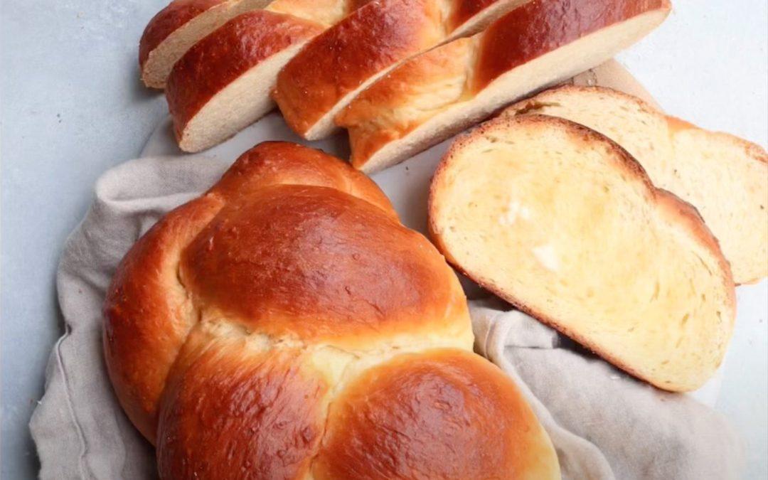 Homemade Tsoureki Greek Easter Bread Recipe