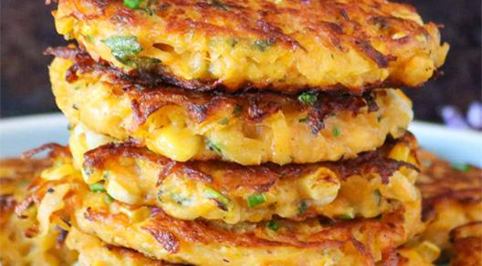 Kolokithokeftedes recipe / Squash Fritters